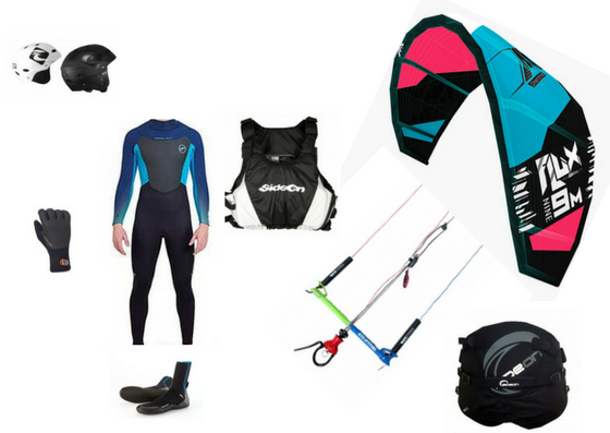 kitesurf beginner pakc evolution