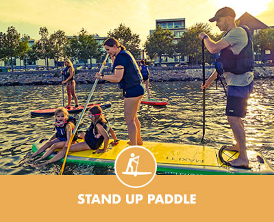 stand up paddle Copenhagen Water sports