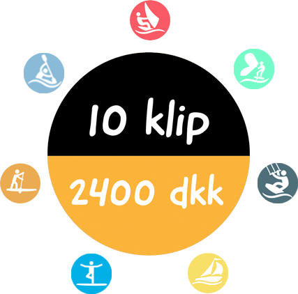 10 klips watersports discount